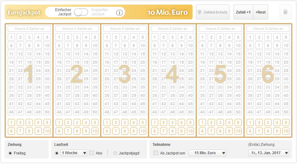 eurojackpot tippen bis wann